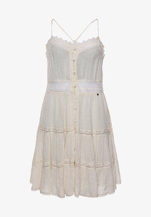 ALANA - Day dress - buttercream