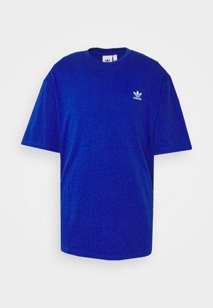 TREFOIL TEE - Print T-shirt - royblu/white