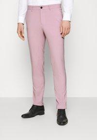 Lindbergh - PLAIN MENS SUIT - Kostuum - purple - 4