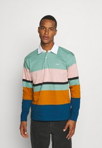 Obey Clothing - BENNY - Polo shirt - oil blue/multi-coloured - 0