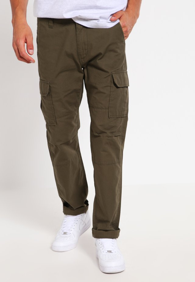 EDWARDSPORT - Cargo trousers - dark olive