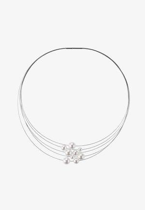 KETTE FLORERE - Necklace - weiß