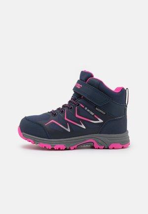 TRIO WP JR UNISEX - Hiking shoes - light navy/light fuchsia