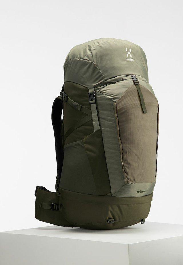 STRÖVA 65 - Hiking rucksack - sage green/deep woods s-m