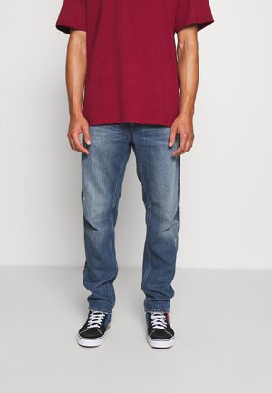 GRIP - Jeans Straight Leg - faded hague blue destroyed