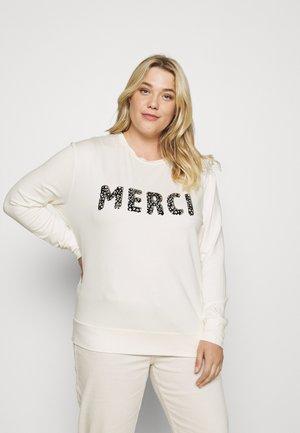 MERCI - Sweatshirt - ivory