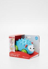 Skip Hop - PULL & GO CAR HEDGEHOG - Speelgoed - blue - 2