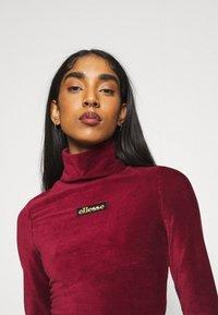 Ellesse - HOLLIE - Long sleeved top - burgundy - 3