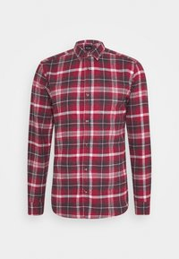 Only & Sons - ONSBOBBY WASHED CHECK - Skjorta - sun dried tomato - 4