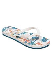 Roxy - TAHITI - Pool shoes - blue/white/orange - 3