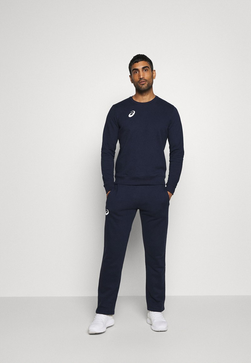 ASICS - MAN SUIT - Tracksuit - strong navy