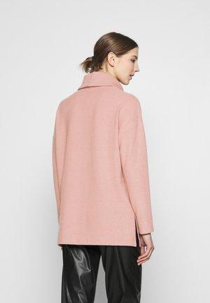 BELLA LONGLINE - Neule - mid pink