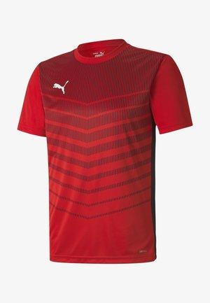 Sports shirt - red-black