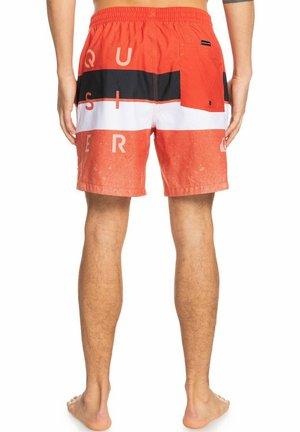 WBLCKVLY - Swimming shorts - pureed pumpkin
