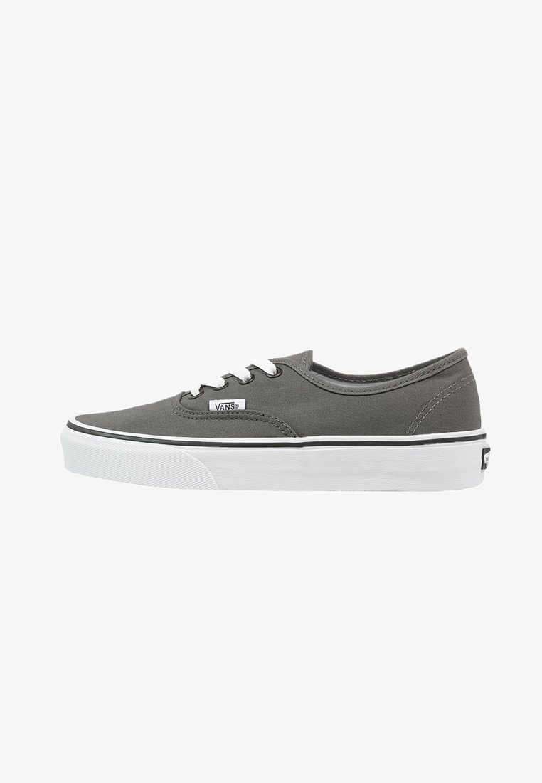 Vans - AUTHENTIC - Skateboardové boty - pewter/black