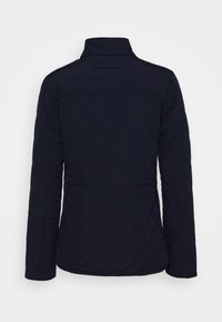 GANT - QUILTED FITTED JACKET - Light jacket - evening blue - 1