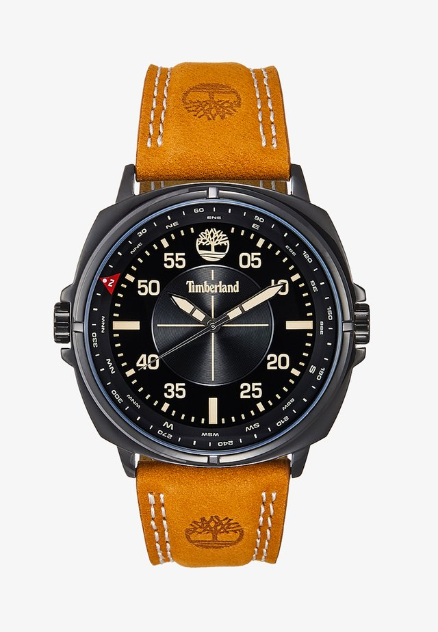 WILLISTON - Horloge - black/cognac