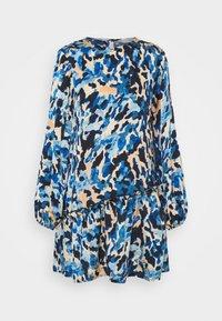 Never Fully Dressed - FRILLED DRESS - Denní šaty - blue - 3