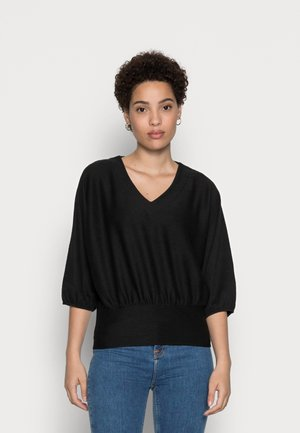 GOLARA - Long sleeved top - black