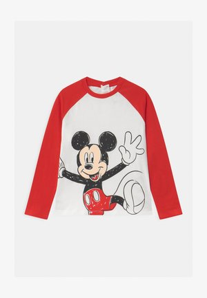 MICKEY - Long sleeved top - snow white