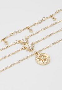Pieces - PCSKY COMBI NECKLACE - Smykke - gold-coloured/clear - 3