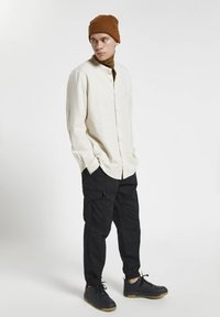 PULL&BEAR - Shirt - mottled light grey - 1