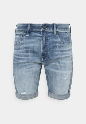 3301 SLIM SHORT - Denim shorts - vintage cool aqua
