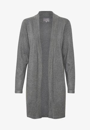 CUVIBSEN  - Chaqueta de punto - mid grey melange