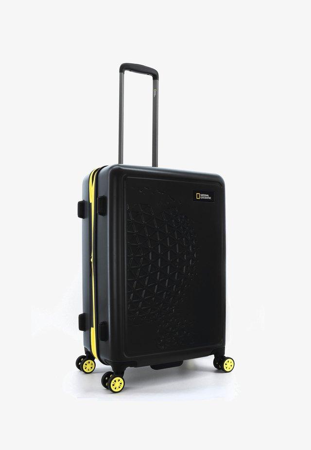 KOFFER GLOBE - Wheeled suitcase - schwarz