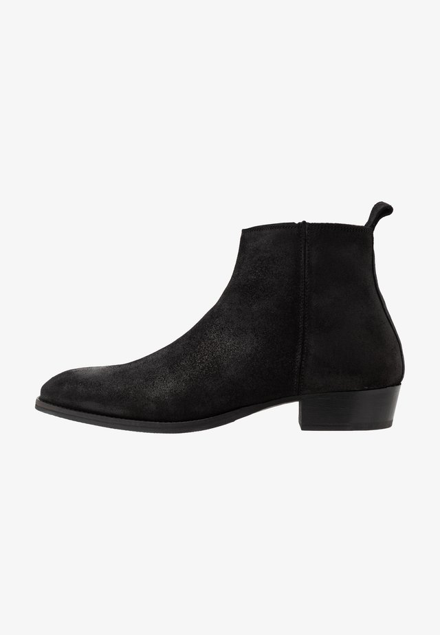 YONDER - Bottines - black metallic