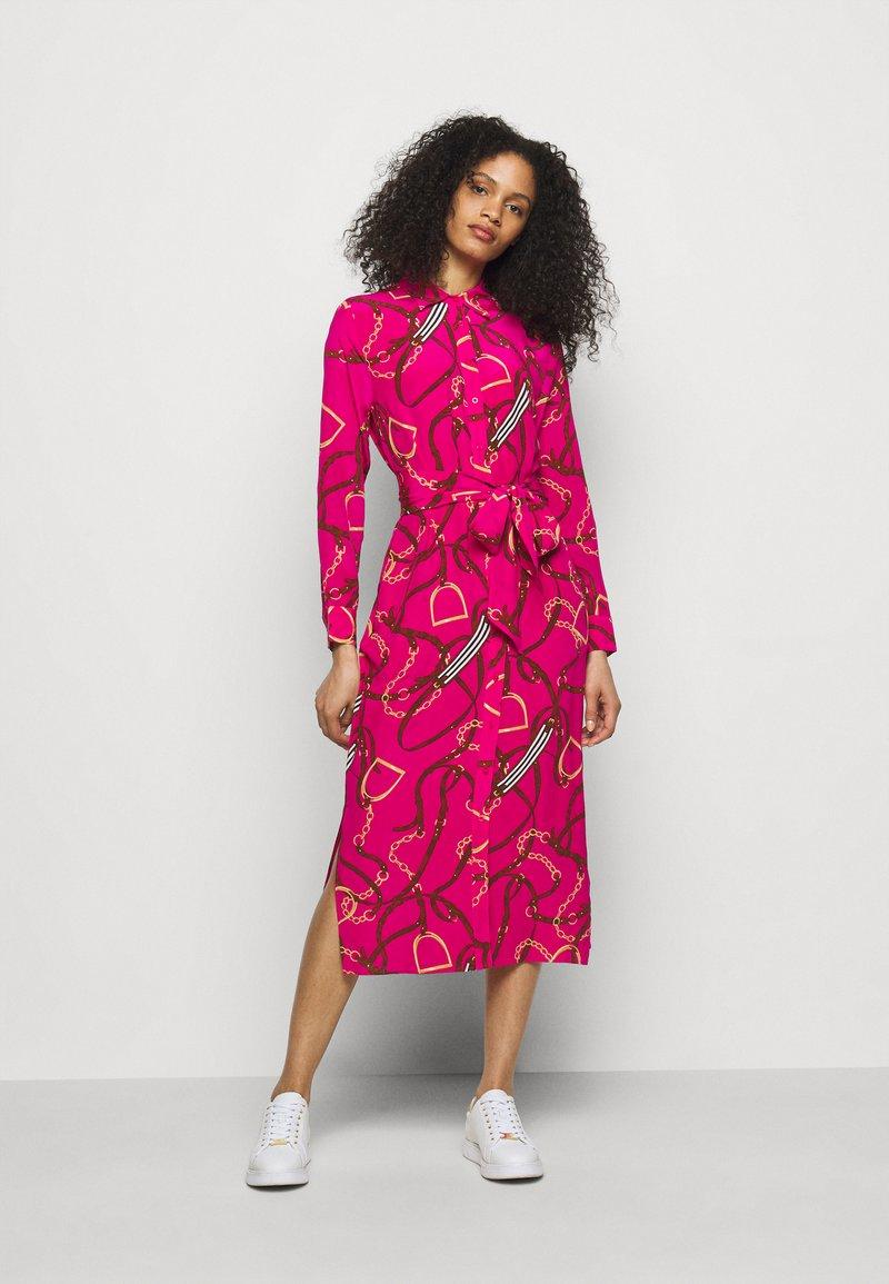 Lauren Ralph Lauren - DRESS - Skjortekjole - nouveau bright