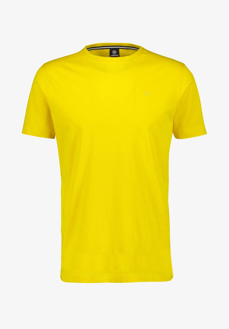 LERROS - Basic T-shirt - bright yellow