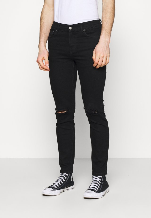 CHASE - Slim fit jeans - black