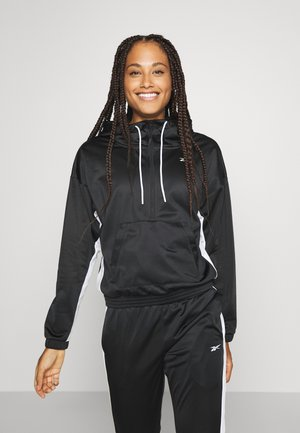 LINEAR LOGO HOODIE - Trainingspak - black
