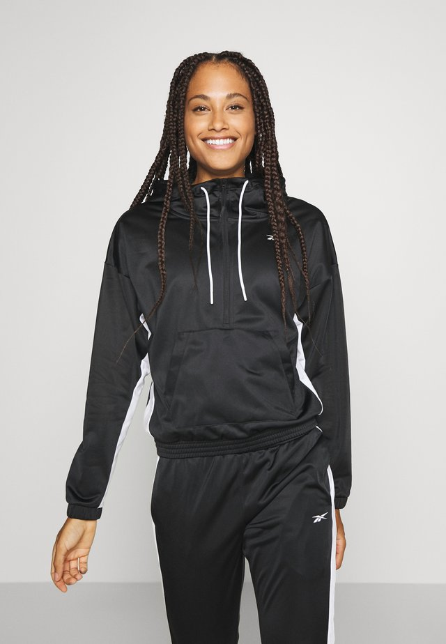 LINEAR LOGO HOODIE SET - Trainingspak - black