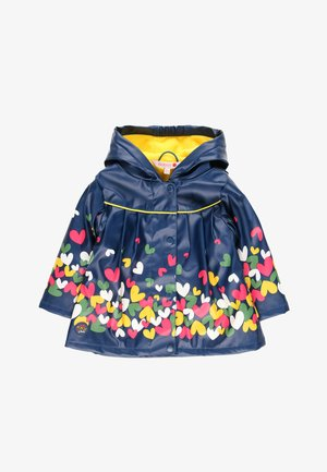 Waterproof jacket - indigo