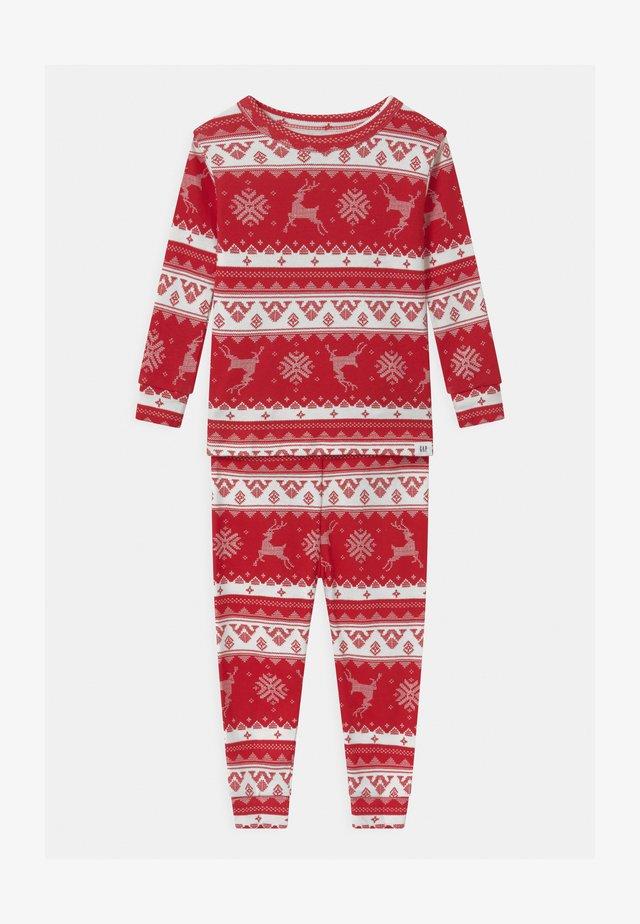 TODDLER FAIRISLE UNISEX  - Pyjama set - modern red
