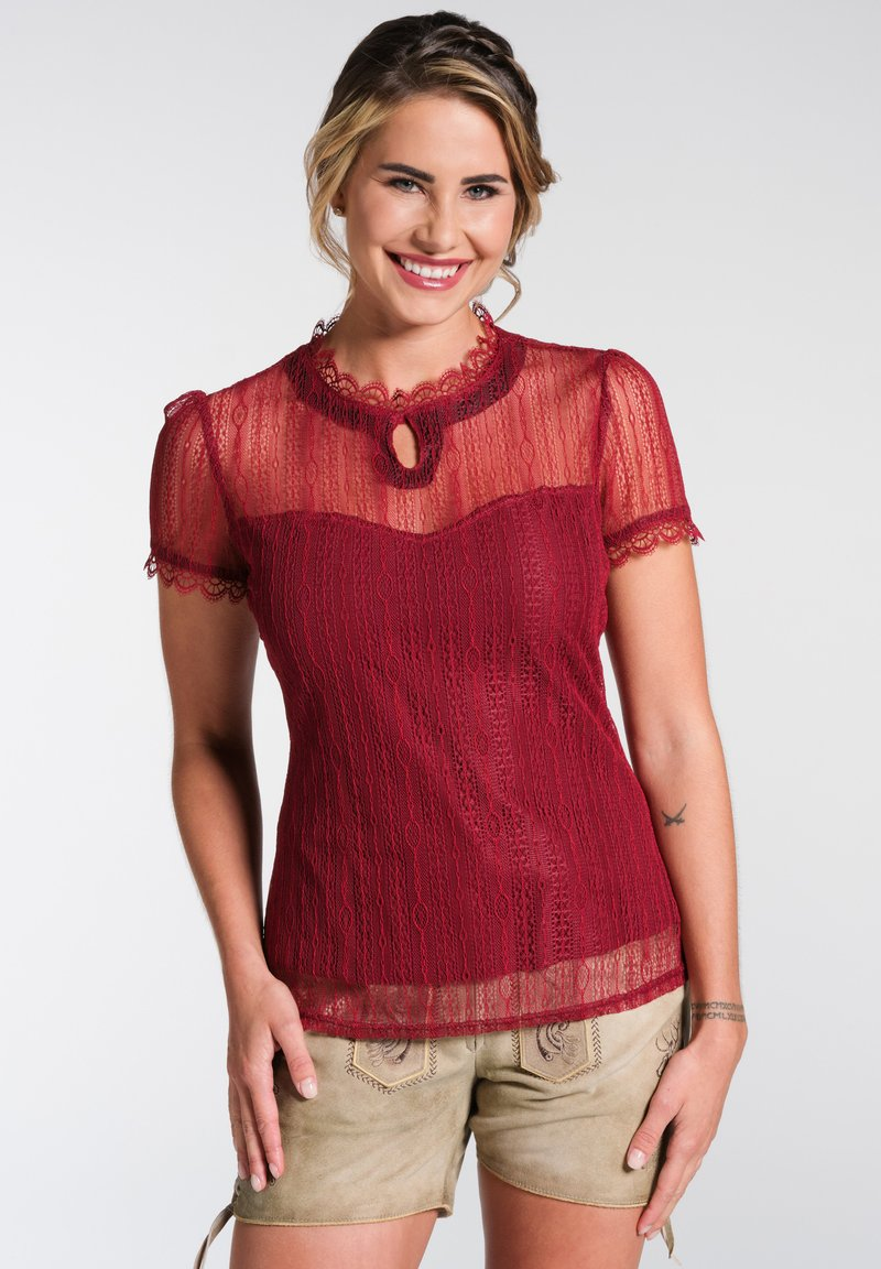 Spieth & Wensky - Blouse - red