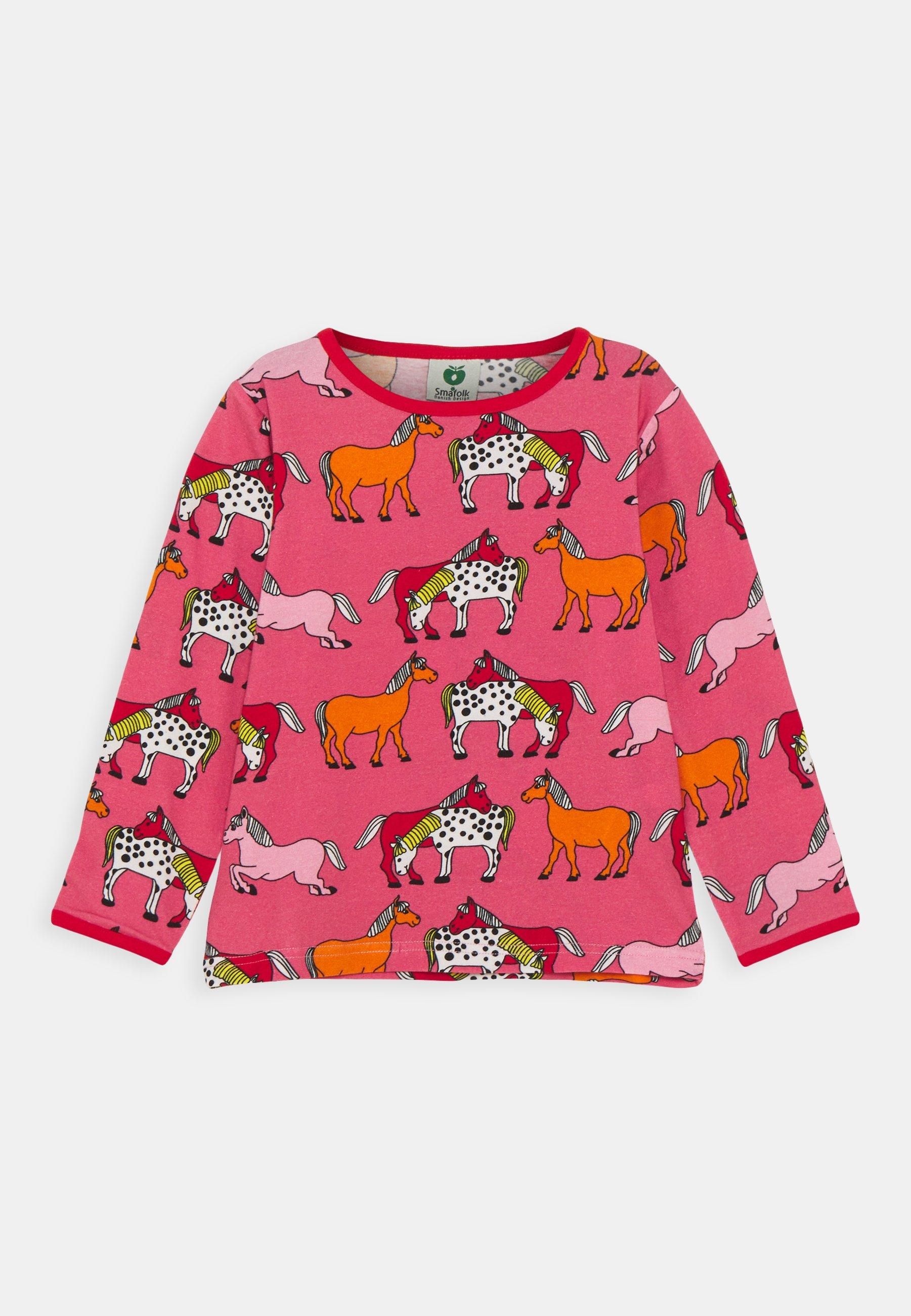 Kids MED HEST - Long sleeved top