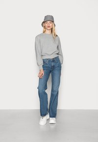 Weekday - TOWER - Flared jeans - deep blue - 1