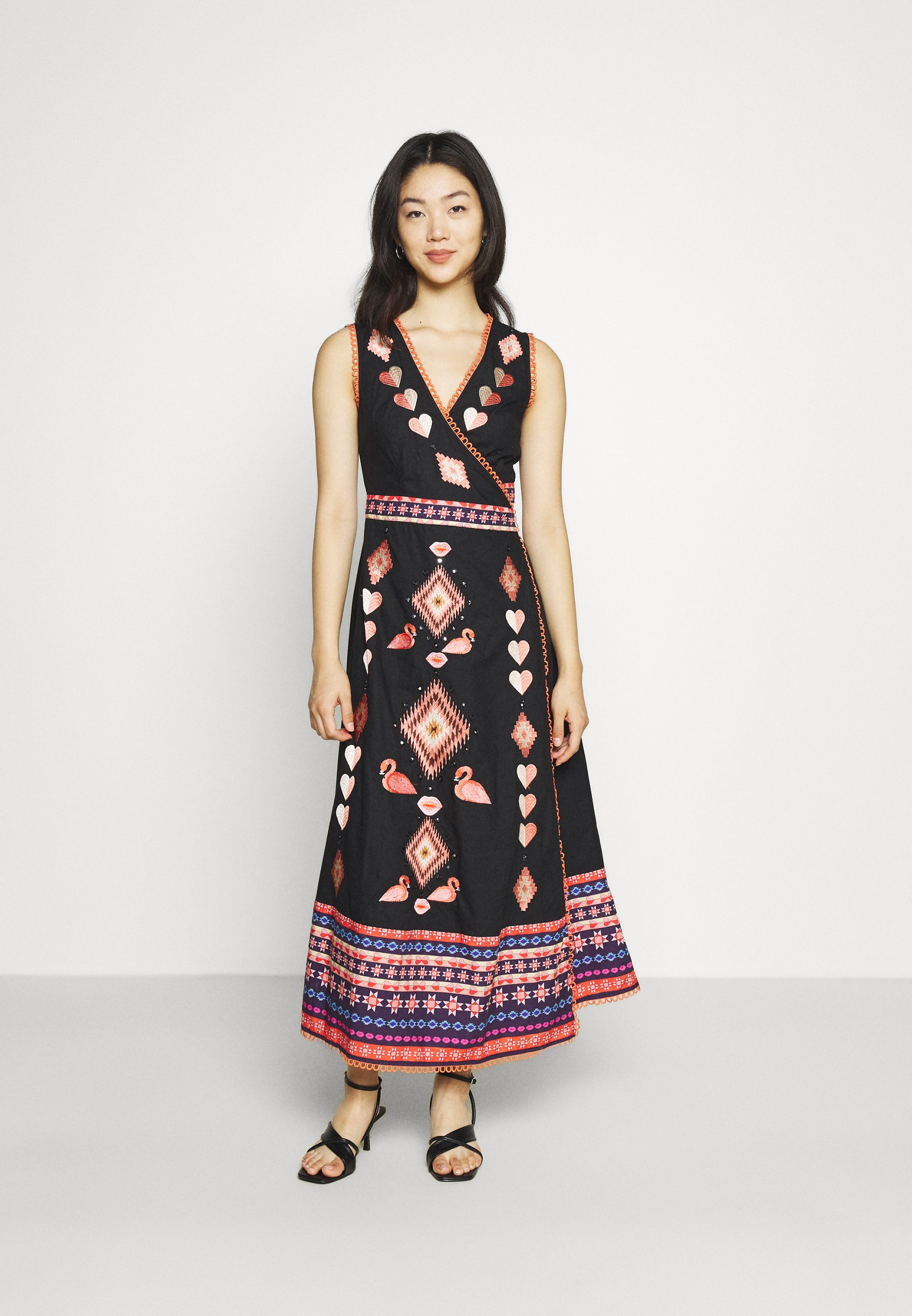 Women ATIA MIDIAXI WRAP DRESS - Day dress