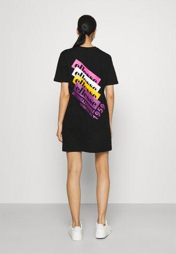 CHIAMA DRESS - Vestido ligero - black