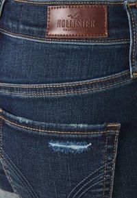 Hollister Co. - Denim shorts - dark dest - 5