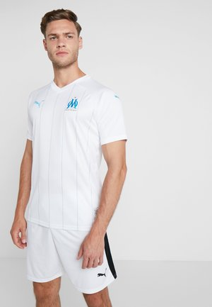 OLYMPIQUE MARSEILLE HOME REPLICA  - Club wear - white/bleu azur
