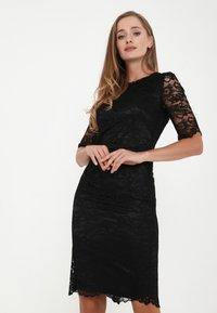 Madam-T - TROPICANA KR - Cocktail dress / Party dress - schwarz - 0