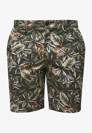 AIDEN TIGER  - Shorts - jungle green