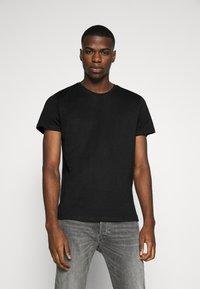 Burton Menswear London - SHORT SLEEVE CREW 10 PACK - T-shirt basic - black/white/indigo - 2