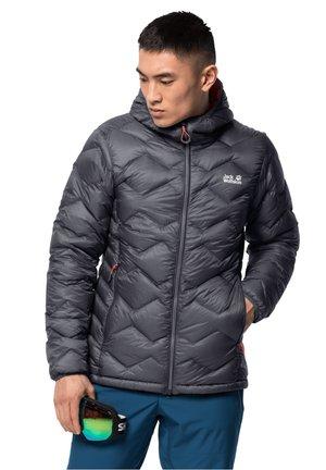 Down jacket - ebony