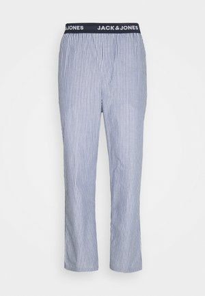 JACSTRIP PANTS - Pyjama bottoms - light grey melange