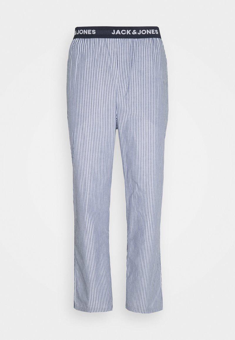 Jack & Jones - JACSTRIP PANTS - Pyžamový spodní díl - light grey melange
